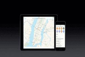 نقشه اپل در ios10