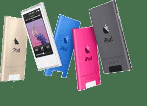 محصولات آیپاد