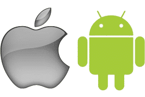 iOS در مقایسه با اندروید