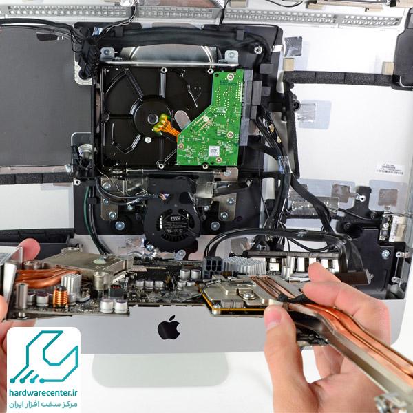 آموزش تعمیر آی مک اپل