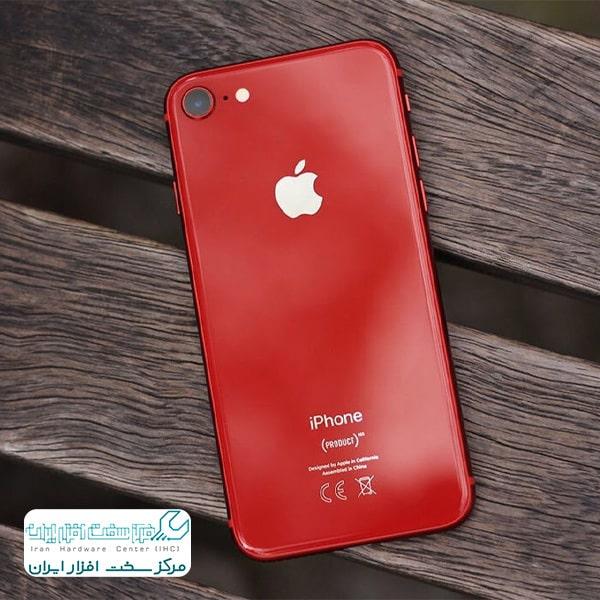 نسخه قرمز رنگ آیفون ۸ و آیفون پلاس ۸