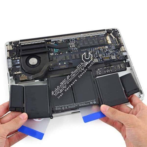تعمیر باتری مک بوک