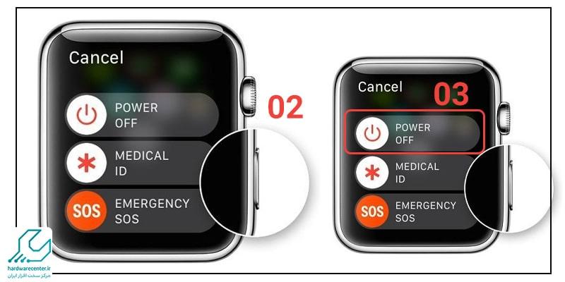 مراحل حذف رمز از Apple watch