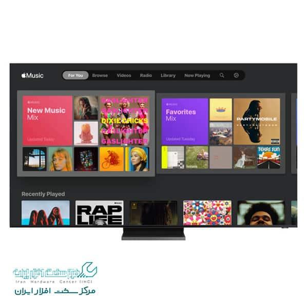 اپل موزیک در تلویزیون هوشمند سامسونگ