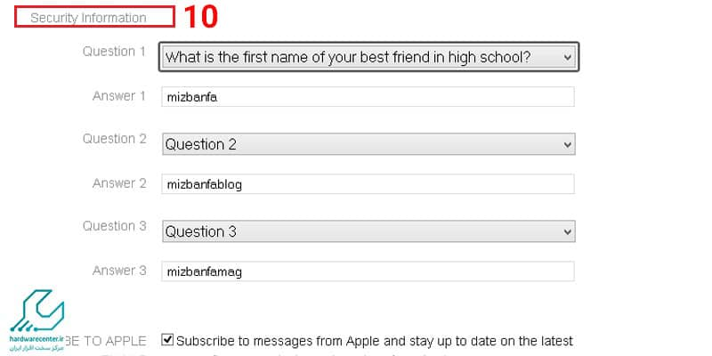آموزش ایجاد Apple ID