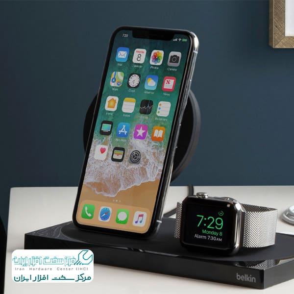 فناوری شارژ بی سیم در گوشی اپل