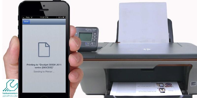 نرم افزار Air Print اتصال آیفون به پرینتر